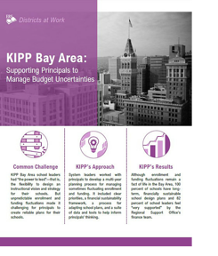 KIPP Bay Area Case Study Front Cover